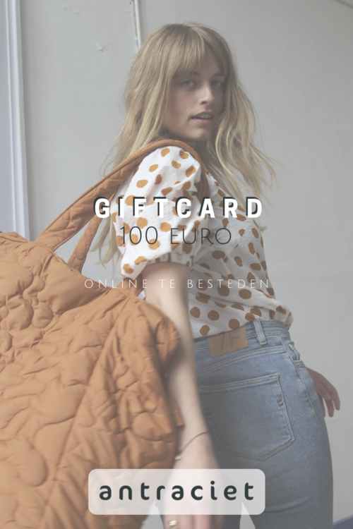 Antraciet Giftcard 100 euro