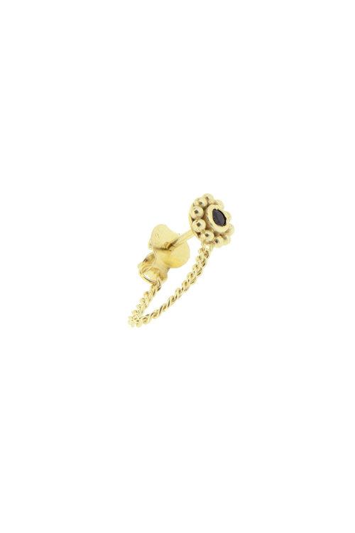 By1Oak Beast gold earring