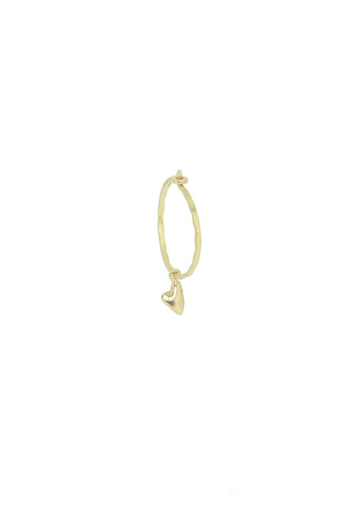 By1Oak Love love love gold earring