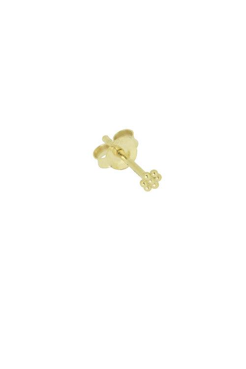 By1Oak Falling for U gold earring