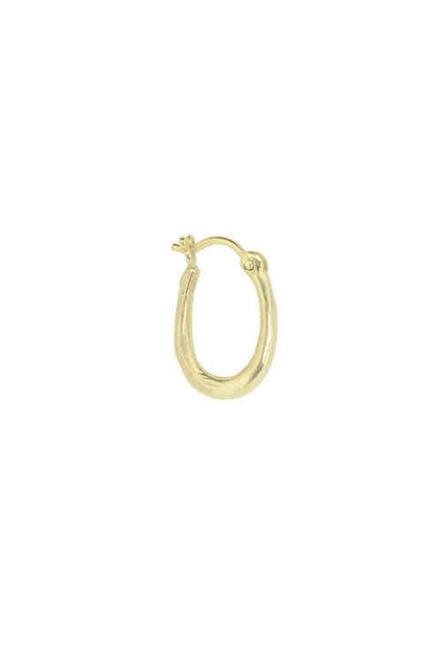 By1Oak One Shot gold earring