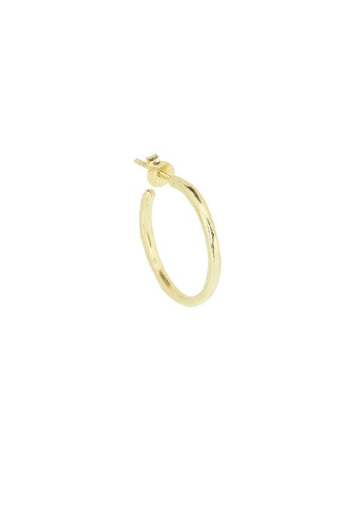 By1Oak The Classics Medium Earring Gold