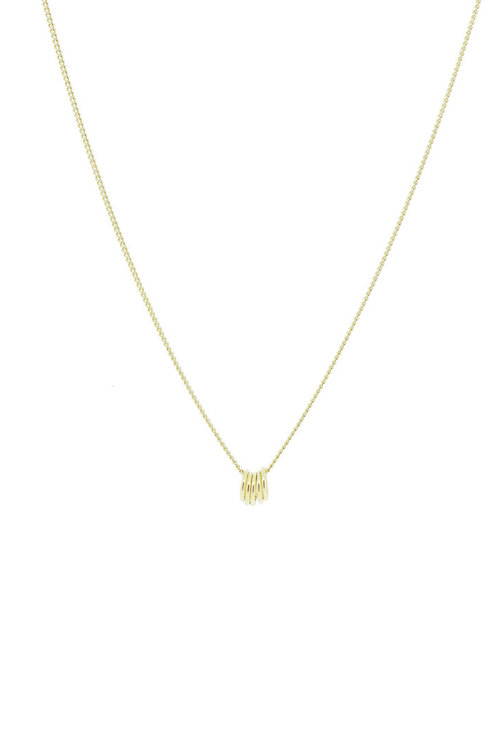 By1Oak Five of us Necklace Gold