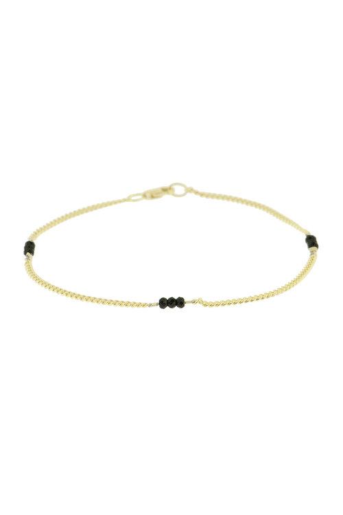 By1Oak Heartbreaker Bracelet Gold