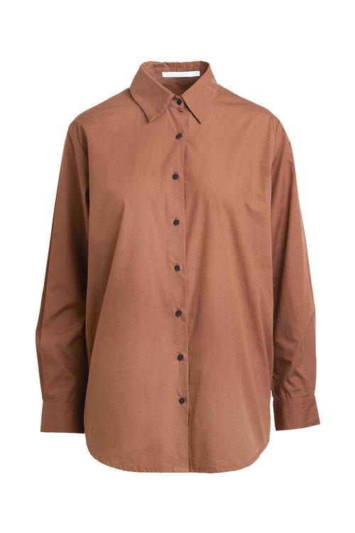 Rabens saloner Rosali Cotton Poplin Shirt