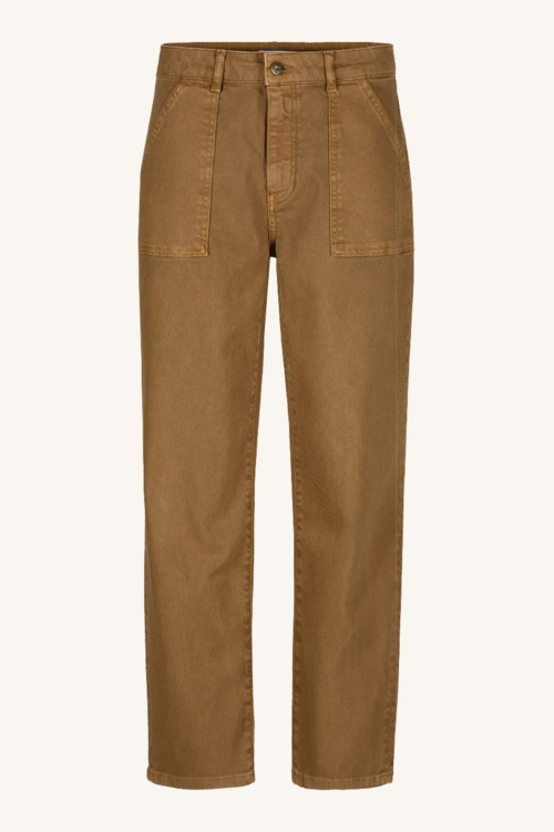 By Bar Smiley Twill Pant
