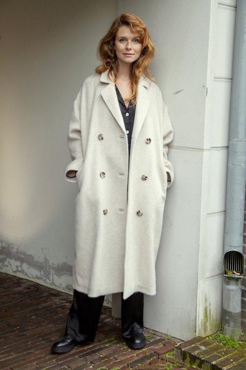 Ruby Tuesday Malon Oversized Woolen Coat