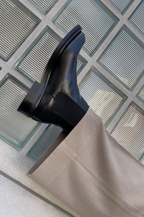 Selected Femme Saga Polido Chelsea Boots