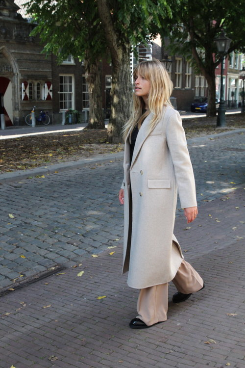 Selected Femme Handmade Wool Coat