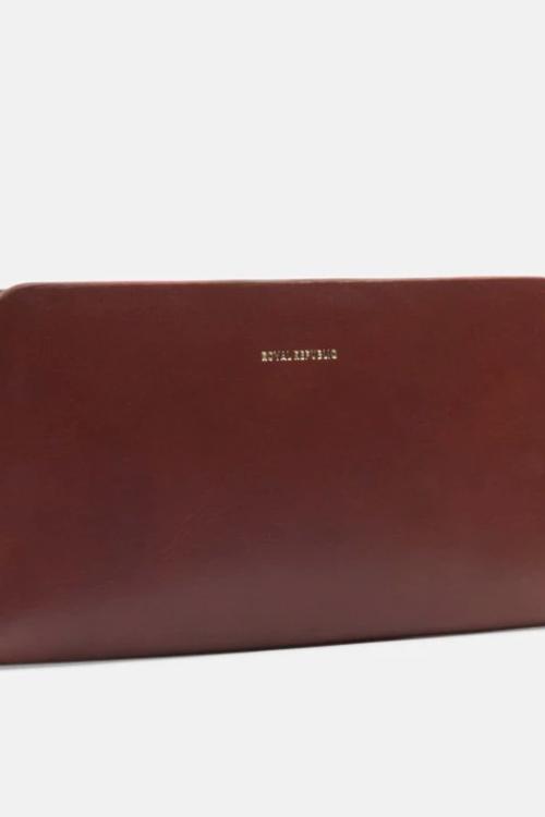 Royal Republiq Galax Travel Wallet Cognac