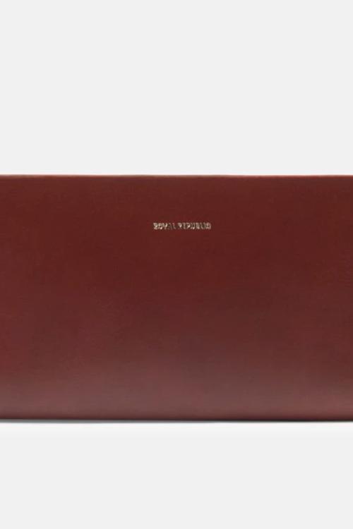 Galax Travel Wallet Cognac