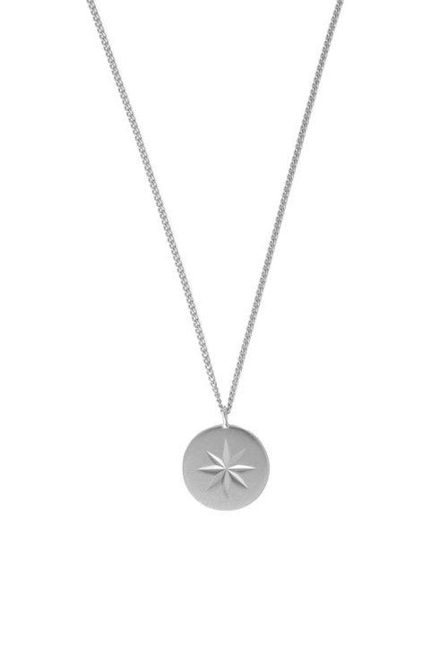 Mimi et Toi Etoile round Necklace Silver