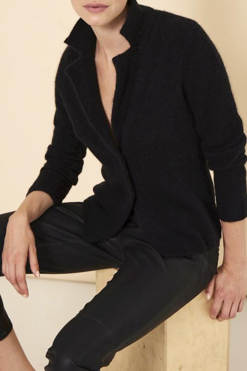 Knit-ted Nicky Cardigan Black