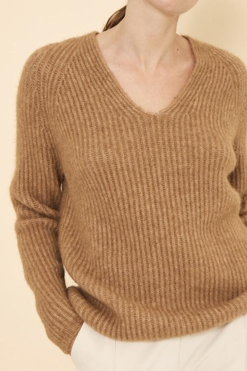 Knit-ted Sara Pullover Camel