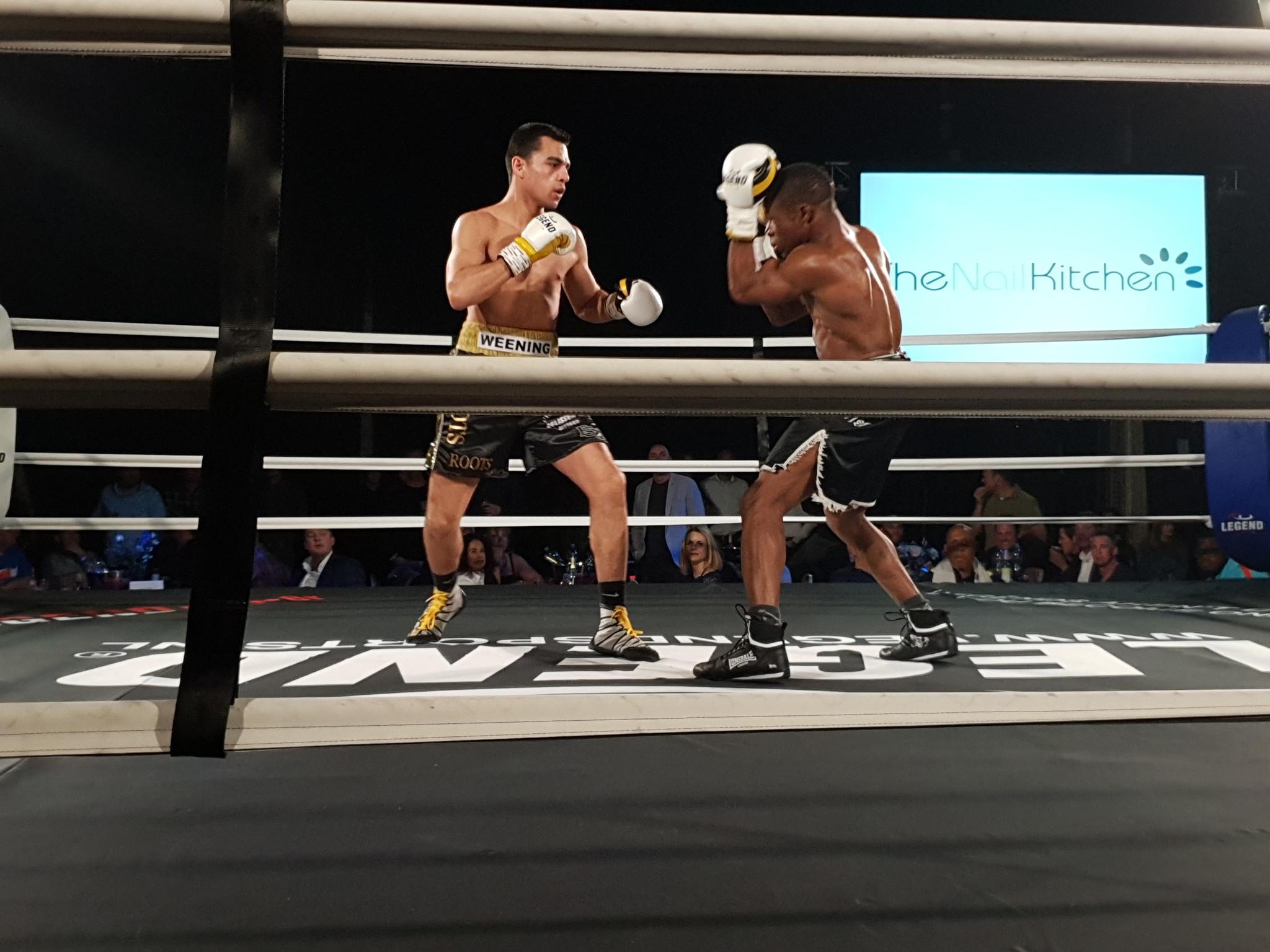 Legend Sports Sponsor bij The Evolution of boxing VI
