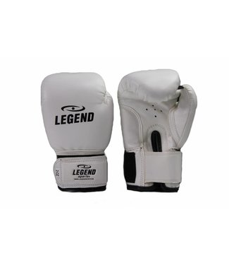 Legend 1-5 jaar Bokshandschoenen kind 2OZ Wit