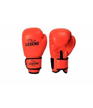 Legend 4-8 jaar Bokshandschoenen kind Neon Oranje