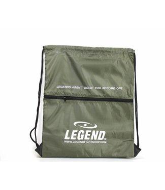 Legend Handige sporttas met vakje Army