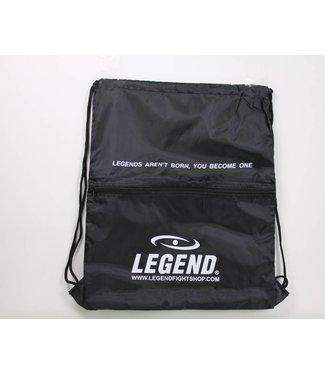 Legend Handige sporttas met vakje zwart