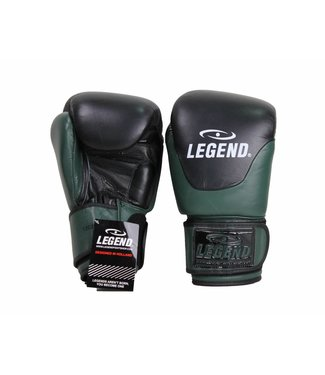 Legend Leren Bokshandschoenen Legend Thai series Army