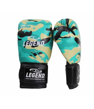Legend Bokshandschoenen camo 2.0 powerfit & Protect