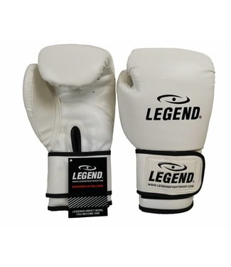 Legend Bokshandschoenen Wit powerfit & Protect