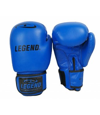 Legend bokshandschoenen kind 6oz Blauw