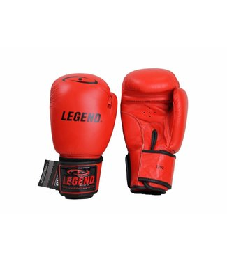 Legend bokshandschoenen kind 6oz Rood