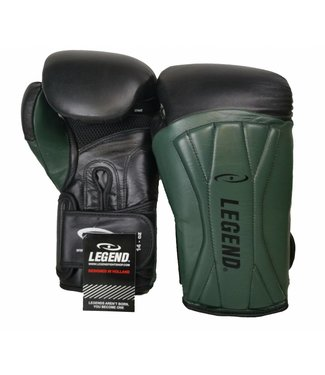Legend Bokshandschoenen leer Legend Power Special Mat Groen