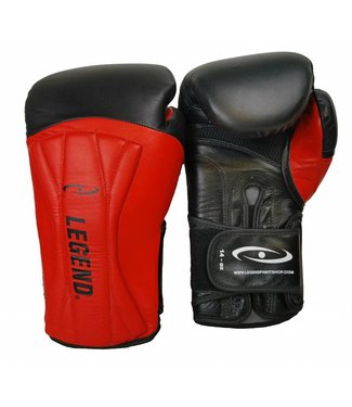 Legend Bokshandschoenen leer Legend Power Special Rood
