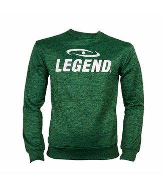 Legend Trui/sweater dames/heren SlimFit Design Legend  Groen