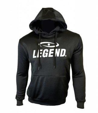 Legend Hoodie dames/heren trendy Legend design zwart