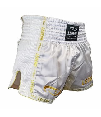 Legend Kickboks broekje gold/white Legend Trendy