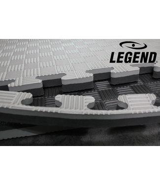 Legend Sports Legend Puzzelmat sport 3CM Zwart/Grijs
