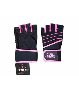 Legend Fitness Handschoenen dames Legend Grip Roze
