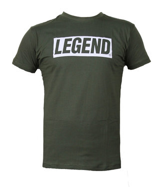 Legend Sports t-shirt army green Legend inspiration quote