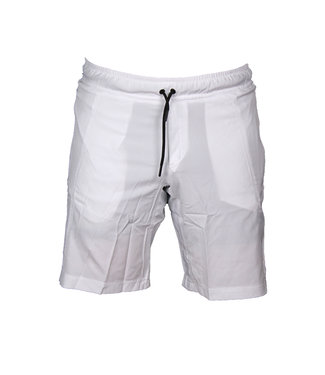 Legend Sports Korte broek/short Legend met rits vakken Wit