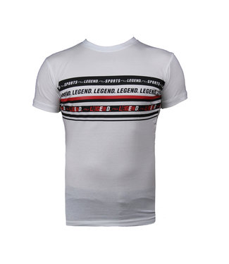 Legend Sports T-Shirt Wit Legend Sports