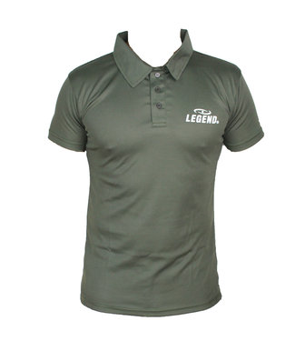 Legend Sports Polo Legend Slimfit army green