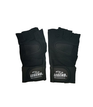 Legend Sports Fitness Handschoenen Legend Mesh zwart