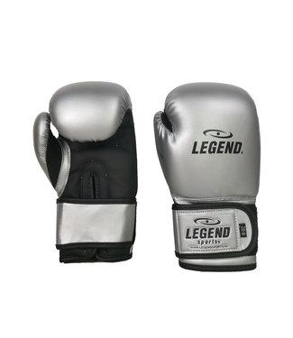 Legend Sports 4-8 jaar Bokshandschoenen kind Zilver/mat zwart