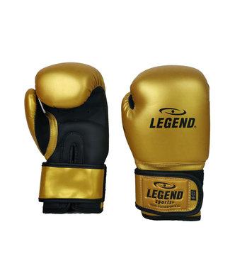 Legend Sports 4-8 jaar Bokshandschoenen kind Goud/mat zwart