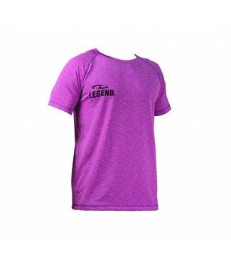 Legend Sportshirt dames Legend DryFit Paars melange