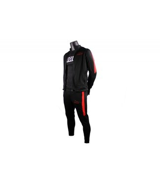 Legend Trainingspak Legend DryFit zwart/Rood
