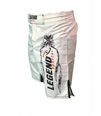 Legend Sportbroekje Legend DryFit MMA Wit