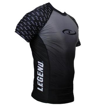 Legend Sportshirt Legend DryFit zwart/grijs Sublimation
