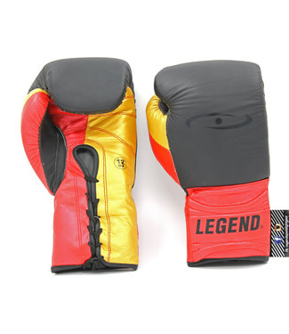 Legend Sports Bokshandschoenen Limited Legendary Mat Zwart/Rood/Goud