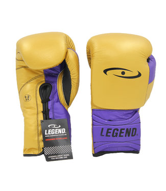 Legend Sports Bokshandschoenen Limited Legendary Goud/Paars