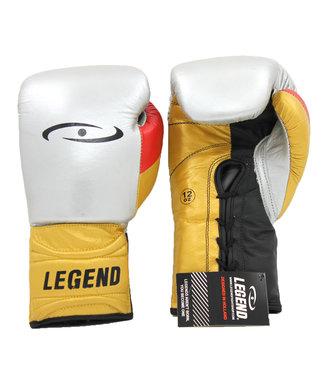 Legend Sports Bokshandschoenen Limited Legendary Zilver/Goud/Mat zwart