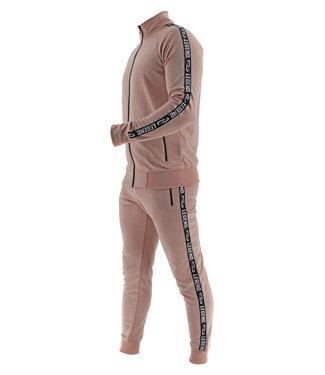 Legend Sports Legend B-keuze Trainingspak Unisex SlimFit Nude Pink